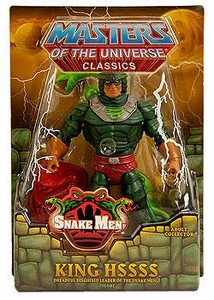He-Man Masters of the Universe Classics Exclusive Action Figure King Hssss