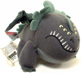 How to Train Your Dragon Movie Mini Talking Plush Figure Red Death [Gray]