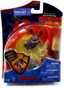 How to Train Your Dragon Movie 4 Inch Series 2 Action Figure Gronckle [Purple]