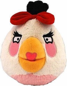 Angry Birds Girls 8 Inch DELUXE Plush With Sound White Girl Bird