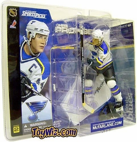 McFarlane Toys NHL Sports Picks Series 2 Action Figure Chris Pronger (St. Louis Blues) White Jersey