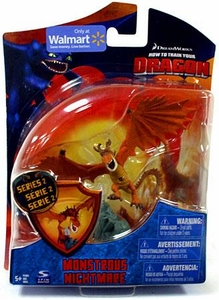 How to Train Your Dragon Movie 4 Inch Series 2 Action Figure Monstrous Nightmare [Orange]