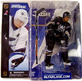 McFarlane Toys NHL Sports Picks Series 2 Action Figure Jaromir Jagr (Washington Capitals) Black Jersey Variant