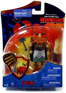 How To Train Your Dragon Movie 4 Inch Series 2 Action Figure Stoick [With Club]