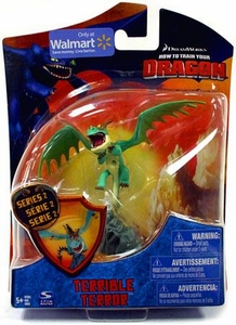 How to Train Your Dragon Movie 4 Inch Series 2 Action Figure Terrible Terror