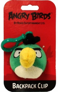 Angry Birds 3 Inch Mini Plush Backpack Clip On Toucan [Green Bird]