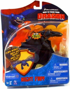 How to Train Your Dragon Movie Series 2 Deluxe 7 Inch Action Figure Night Fury {Toothless} [Flaps Wings]