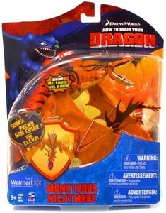 How to Train Your Dragon Movie Series 2 Deluxe 7 Inch Action Figure ORANGE Monstrous Nightmare