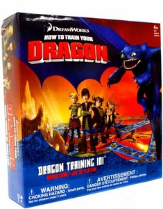 How to Train Your Dragon Movie Board Game Dragon Training 101