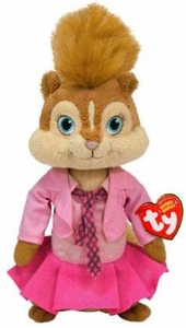 Ty Alvin & The Chipmunks Beanie Baby Brittany