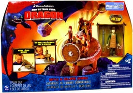 How to Train Your Dragon Movie Playset Battle & Collapse Catapult [Hiccup with Apron Action Figure]