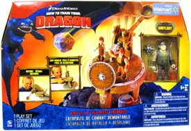 How To Train Your Dragon Movie Playset Battle & Collapse Catapult [Snotlout Action Figure]