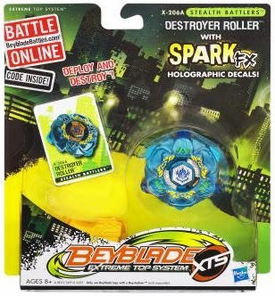Beyblades XTS Stealth Battler Destroyer Roller [X-206A]