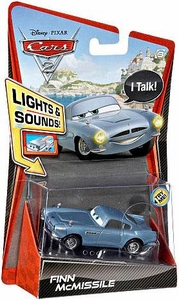 Disney / Pixar CARS 2 Movie 1:55 Die Cast Car with Lights & Sounds Finn McMissile
