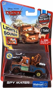 Disney / Pixar CARS 2 Movie Exclusive 1:55 Die Cast Car with Lights & Sounds Spy Mater [Mater's Secret Mission]