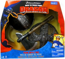 How to Train Your Dragon Movie Roleplay Toy Set Viking Battle Pack