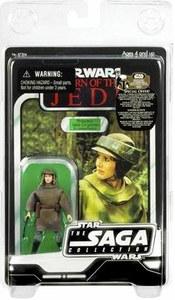 Star Wars Saga 2007 Vintage Action Figure Endor Leia