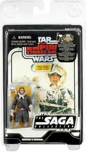 Star Wars Saga 2007 Vintage Action Figure Hoth Han Solo