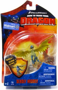 How to Train Your Dragon Movie 4 Inch Series 1 Action Figure Deadly Nadder [Blue & Green]