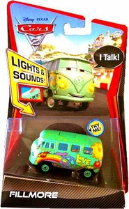 Disney / Pixar CARS 2 Movie 1:55 Die Cast Car with Lights & Sounds Fillmore