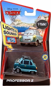Disney / Pixar CARS 2 Movie 1:55 Die Cast Car with Lights & Sounds Professor Z