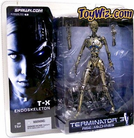 McFarlane Toys T-3 Terminator Rise of the Machines Action Figure T-X Endoskeleton