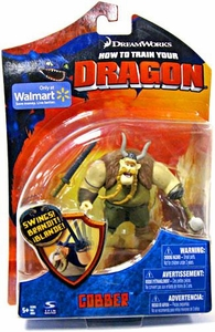 How To Train Your Dragon Movie 4 Inch Series 1 Action Figure Gobber [Sword & Club]