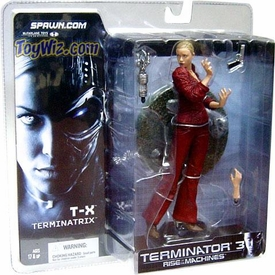 McFarlane Toys T-3 Terminator Rise of the Machines Action Figure T-X Terminatrix