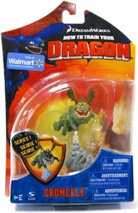 How to Train Your Dragon Movie 4 Inch Series 1 Action Figure Gronckle [Green]