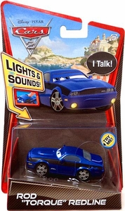 Disney / Pixar CARS 2 Movie 1:55 Die Cast Car with Lights & Sounds Rod