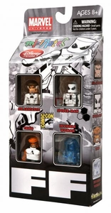Diamond Select Toys Marvel Minimates SDCC 2011 San Diego Comic Con Exclusive 4-Pack Future Foundation [Mr. Fantastic, Spider Man, Thing & Invisible Woman]