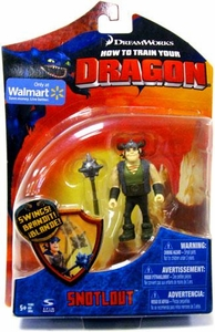 How To Train Your Dragon Movie 4 Inch Series 1 Action Figure Snotlout [with Mace]