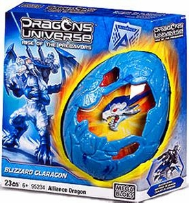 Dragons Universe Mega Bloks Set #95234 Blizzard Glaragon