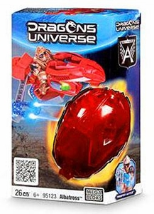 Dragons Universe Mega Bloks Set #95123 Albatross