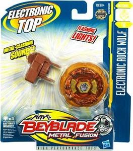 Beyblades Metal Fusion Electronic Defense Top #B16 Rock Wolf