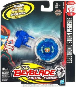 Beyblades Metal Fusion Electronic Attack Top #B10 Storm Pegasus