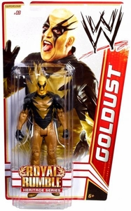 Mattel WWE Wrestling Royal Rumble Heritage PPV Basic Series 14 Action Figure #9 Goldust [Royal Rumble 2003]