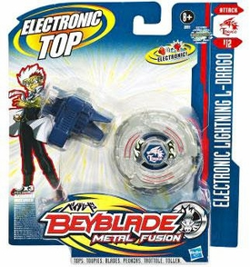 Beyblades Metal Fusion Electronic Attack Top #B12 Lightning L-Drago