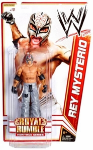 Mattel WWE Wrestling Royal Rumble Heritage PPV Basic Series 14 Action Figure #10 Rey Mysterio [Royal Rumble 2008] BLOWOUT SALE!