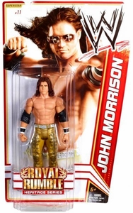 Mattel WWE Wrestling Royal Rumble Heritage PPV Basic Series 14 Action Figure #11 John Morrison [Royal Rumble 2008]
