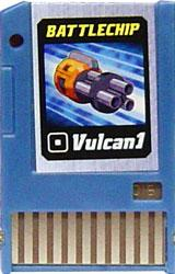 Mega Man Battle Chip #016 Vulcan 1