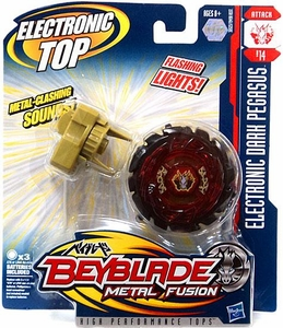 Beyblades Metal Fusion Electronic Attack Top #B14 Dark Pegasus