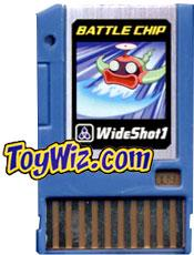Mega Man Battle Chip #009 WideShot 1