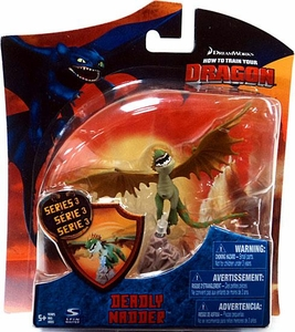 How To Train Your Dragon Movie 4 Inch Series 3 Action Figure Deadly Nadder