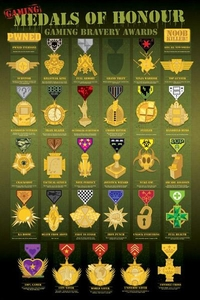 Pop Culture Movie Poster Medals of Honor