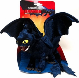 How To Train Your Dragon Movie 8.5 Inch Plush Figure Night Fury {Toothless}
