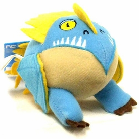 How To Train Your Dragon Movie Mini Talking Plush Figure Deadly Nadder [Light Blue]