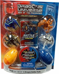 Dragons Universe Mega Bloks Set #95137 5 Dragon Battle Pack