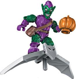 Marvel Mega Bloks LOOSE Series 1 Minifigure Green Goblin