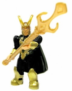 Marvel Mega Bloks LOOSE Series 2 Mini Figure Rare Loki